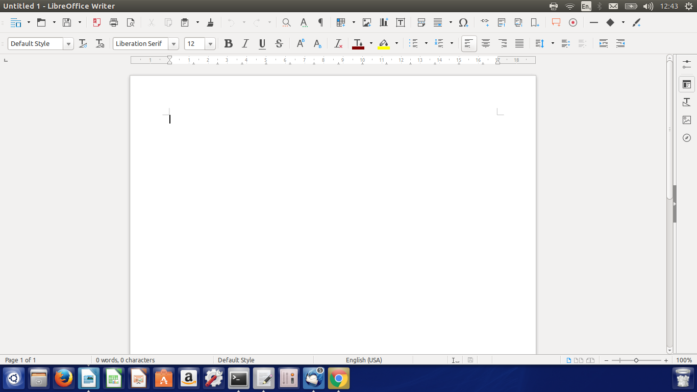 LibreOffice spell check not working