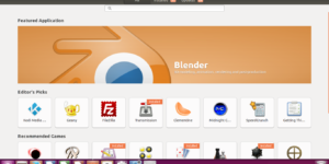 Ubuntu software center not working