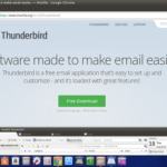 Backup and restore Thunderbird in Linux